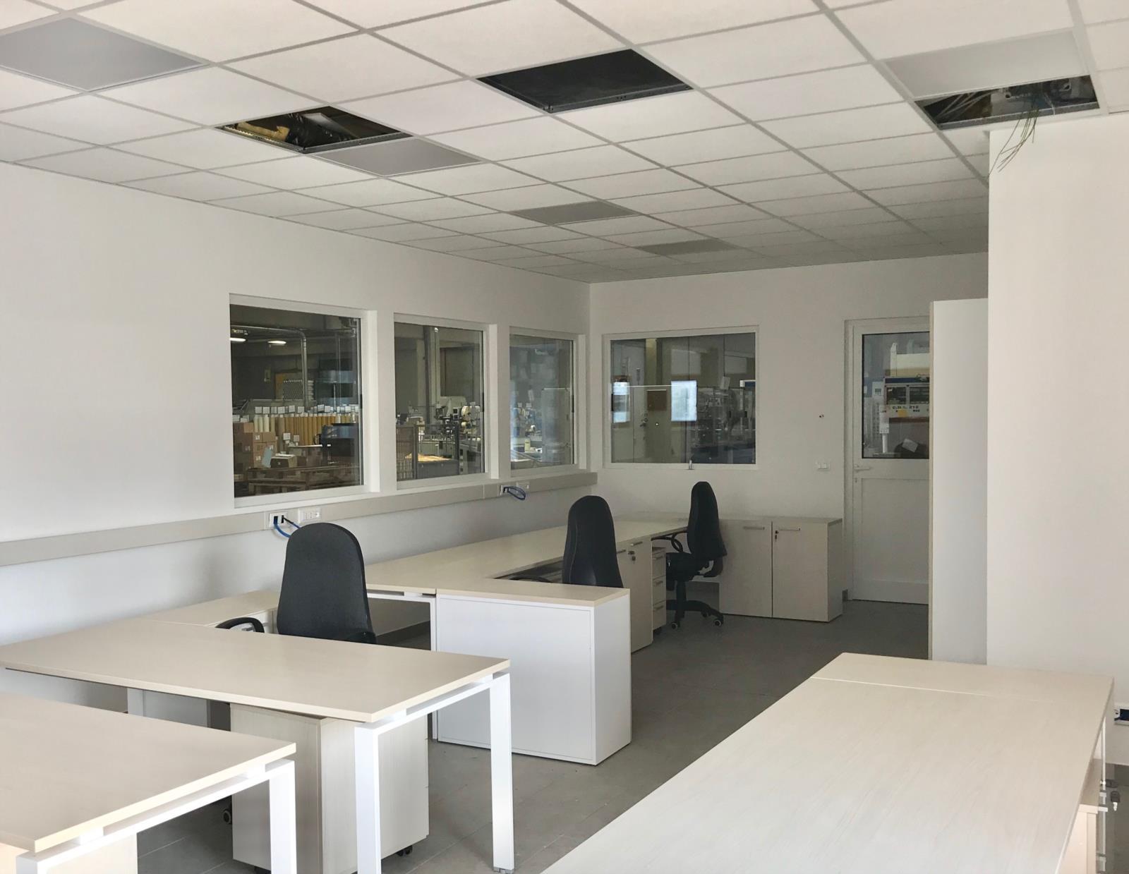 In Ufficio Tecnico : Ampliamento ufficio tecnico